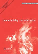 Race and ethnicity research proposal